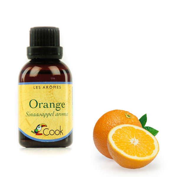 Natural organic orange aroma