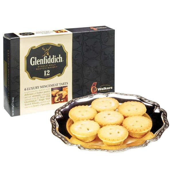 Tartelettes mincemeat de luxe au Glenfiddich - Walkers