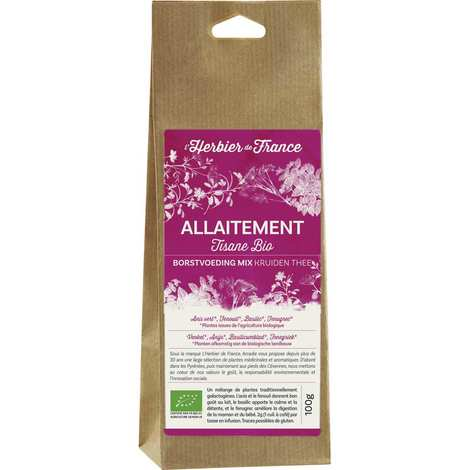 Cook - Herbier de France - Infusion mélange allaitement bio