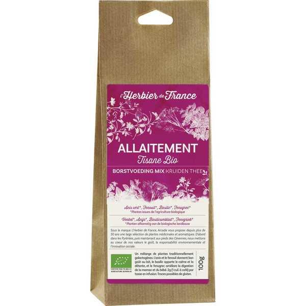 Infusion mélange allaitement bio - sachet 100g
