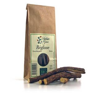 Cook - Herbier de France - Racine de réglisse bio en bâtons