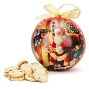 Grandma Wild's - Grandma Wild's Mini Chocolate Chip Cookies - Christams Bauble Tin