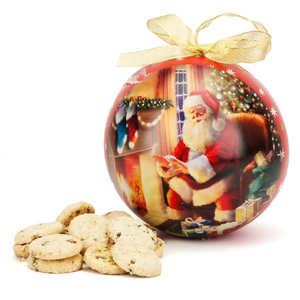 Grandma Wild's - Grandma Wild's Mini Chocolate Chip Cookies - Christams Bauble Tin
