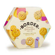 Border Biscuits - Grande boite de biscuits écossais assortis Border