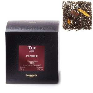 "Dammann frères - Vanilla tea in ""Cristal"" sachets by Dammann Frères"