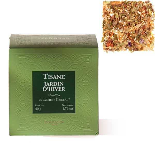 Jardine d'Hiver Herbal tea by Dammann Frères