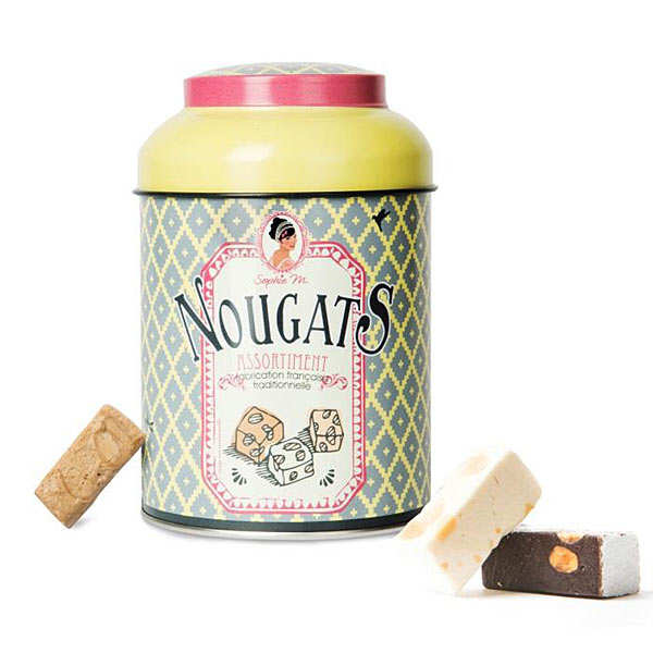Nougat Assortment in a Tin