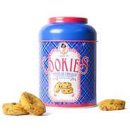 Sophie M - Assortiment de cookies aux pépites de chocolat - Boite en métal