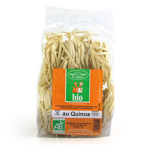 Pâtes Fabre - Tagliatelles bio au quinoa