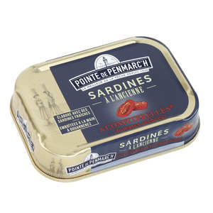 La pointe de Penmarc'h - Sardines à l'ancienne au caviar de tomates (ou confiterelles)
