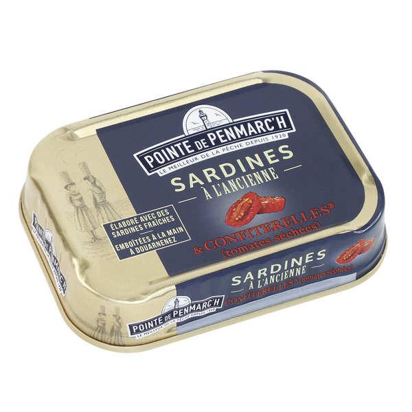 Sardines à l'ancienne au caviar de tomates (ou confiterelles)