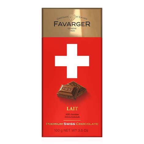 Favarger - Tablette de chocolat suisse au lait