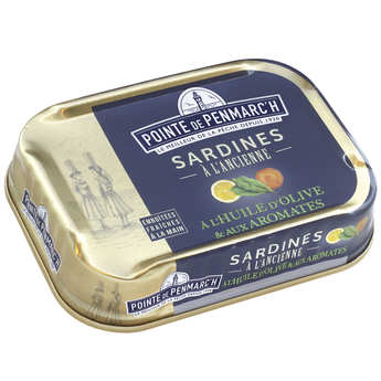 La pointe de Penmarc'h - Traditionnal sardine with olive oil and aromatic herbs