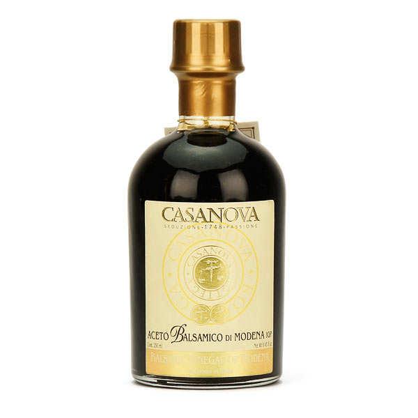 Vinaigre balsamique de modène 4 ans - bouteille verre 25cl