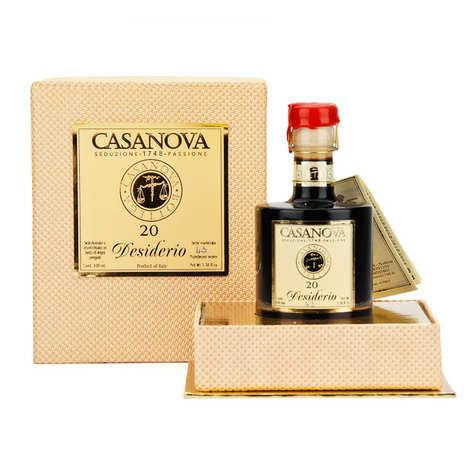 Casanova - Coffret vinaigre balsamique 20 ans Désir