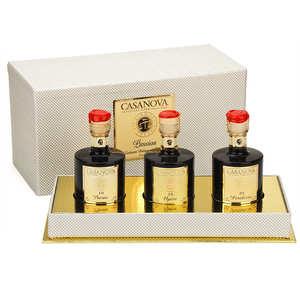 Casanova - Three Balsamic vinegar - Passion Case