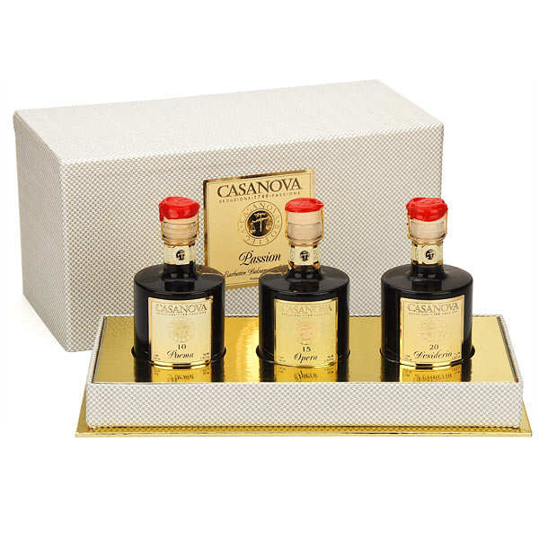 Three Balsamic vinegar - Passion Case