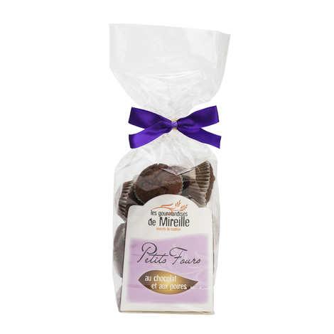 Mireille Faucher - Petits fours poires chocolat