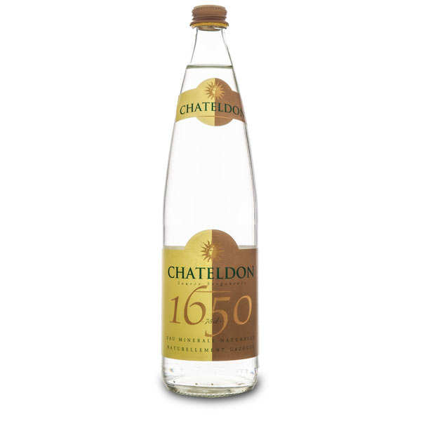 """Chateldon - Sparkling water from """"Auvergne"""" district"""