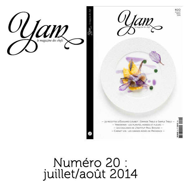 French magazine about cuisine - YAM n°20