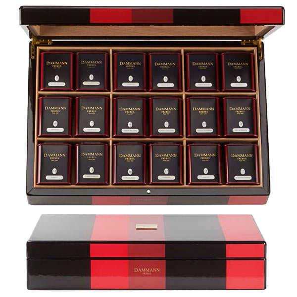 """""""Chorus"""" selection by Dammann Frères - 18 metal boxes"""