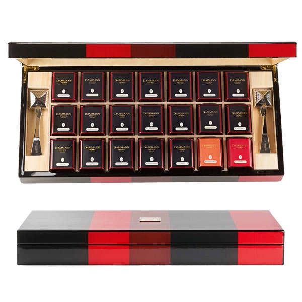 """""""Bayadère"""" selection by Dammann Frères - 21 metal boxes"""