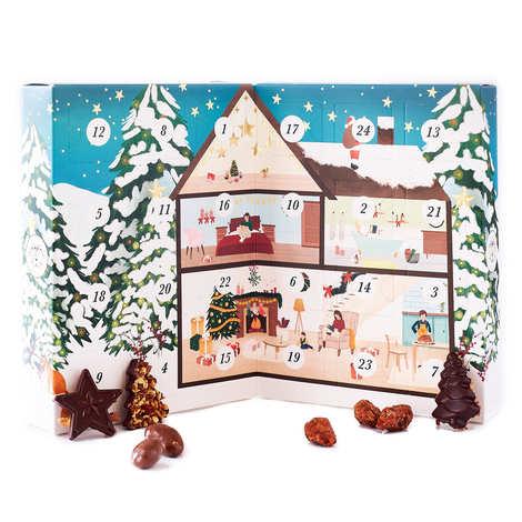 Mazet de Montargis - Advent Calendar designed by Yumi Kitagishi