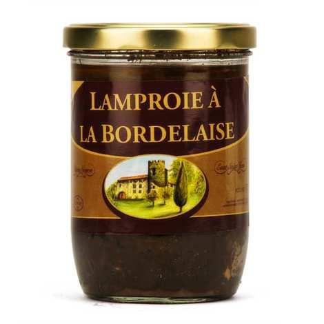 Régal de Saint Brice - Bordelaise style Lamprey