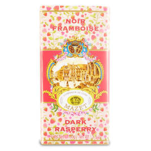 Mazet de Montargis - Dark Chocolate and raspberry Bar
