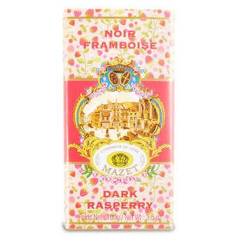 Mazet de Montargis - Tablette de chocolat noir framboise