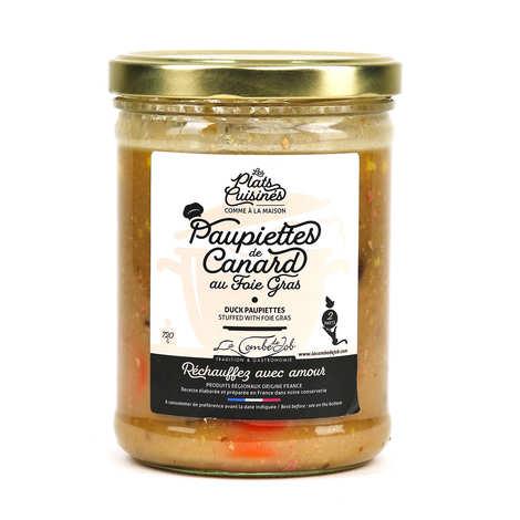 La combe de Job - Paupiettes de canard au foie gras