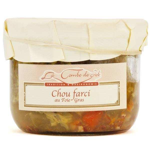 Chou farci au foie gras