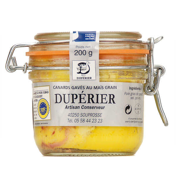 """Whole Duck Foie Gras from South-West """"Landes"""" France"""