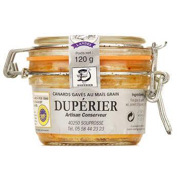 Duperier et fils - Foie gras de canard entier du Sud-Ouest au piment d'Espelette