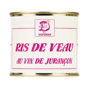 Duperier et fils - Ris de veau au Jurançon