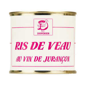Duperier et fils - Sweetbreads with Jurancon