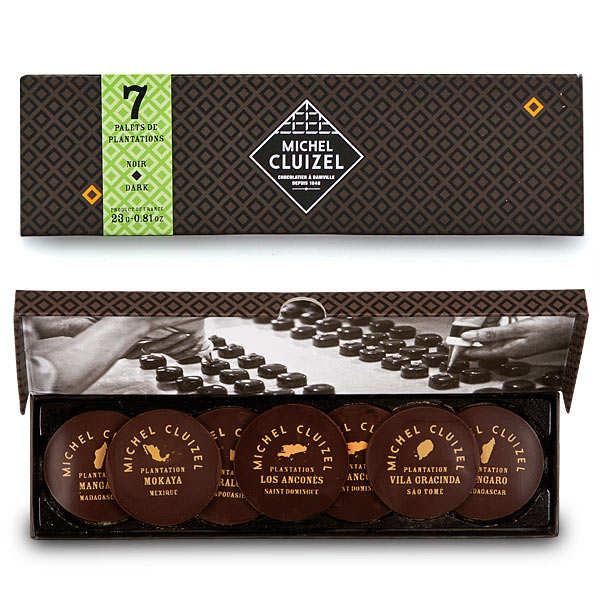 Le coffret plumier chocolats de plantation de Michel Cluizel