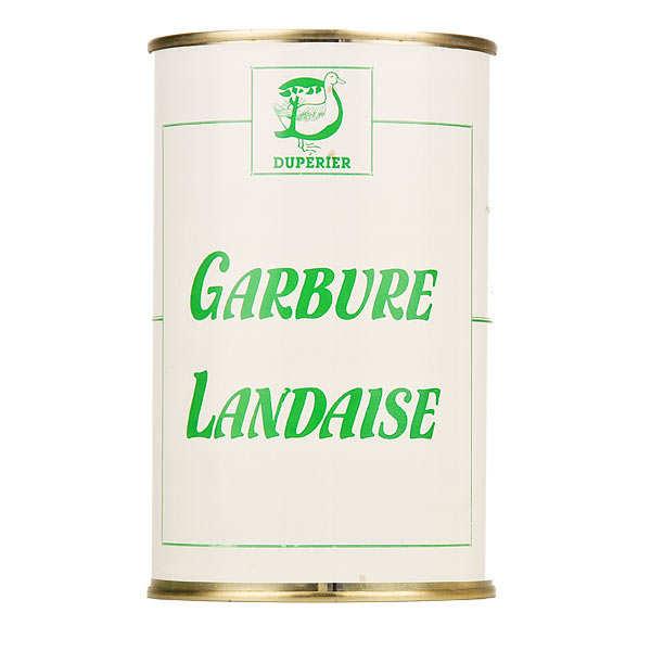 Garbure landaise garnie