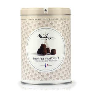 Chocolat Mathez - Les inséparables - truffe fantaisies nature