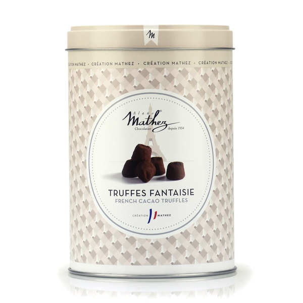 Chocolate Truffles in Vintage Tin