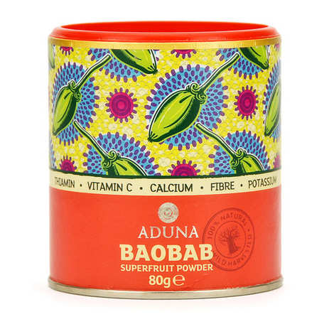 Aduna - Organic baobab superfruit powder