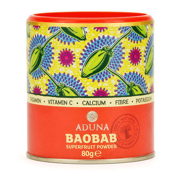 Organic baobab superfruit powder