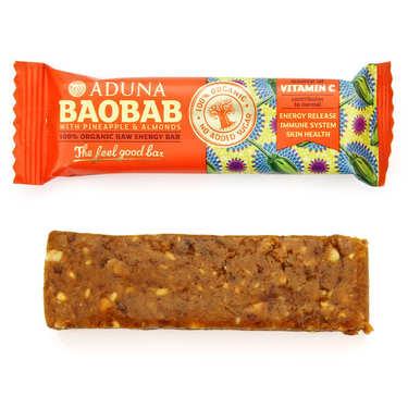Barre énergétique bio au baobab - superfruit