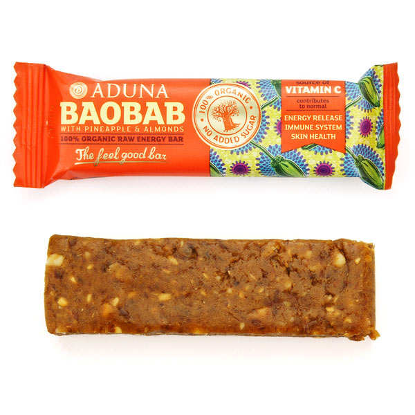 Baobab superfruit bar