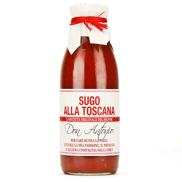 Sugo alla Toscana - Tomatoes sauce with sweet red pepper