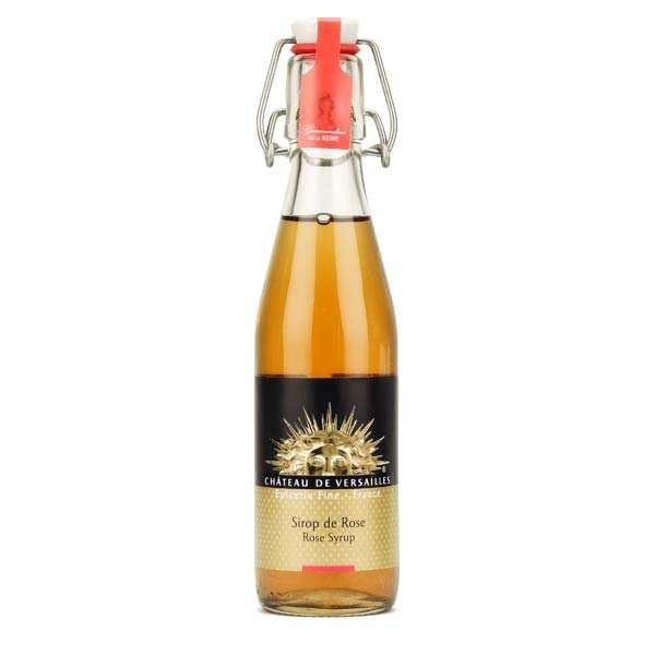 Organic rose syrup