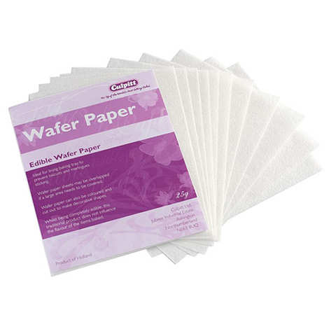 Cake Star - Edible wafer paper - 12