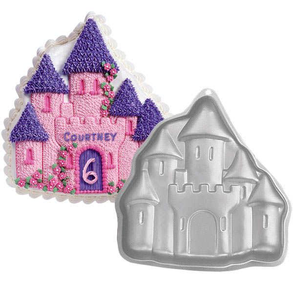 Moule en aluminium château enchanté Wilton