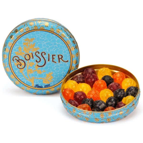 Bonbons boules assortis aux fruits - Boissier