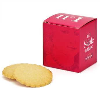 Biscuiterie La Sablésienne - Le cube n°1 sablé de Sarthe nature
